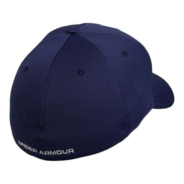 Hats/Visors - Blitzing II Stretch Fit Hat In Midnight Navy By Under Armour
