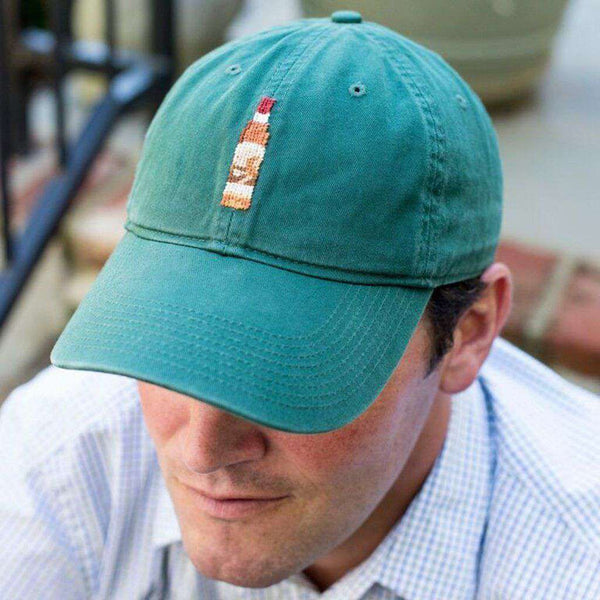 Bourbon Needlepoint Ball Cap by Pappy & Company