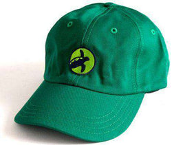 Hats/Visors - Brushed Cotton Logo Hat In Green By Loggerhead Apparel - FINAL SALE