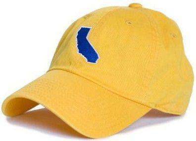 Hats/Visors - California Berkeley Gameday Hat In Yellow By State Traditions