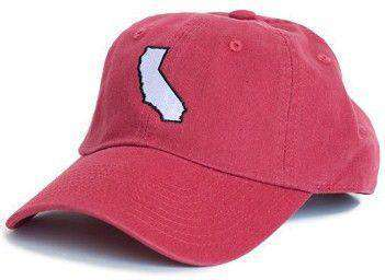 Hats/Visors - California Palo Alto Gameday Hat In Cardinal Red By State Traditions