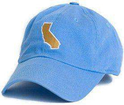 Hats/Visors - California Pasadena Gameday Hat In Light Blue By State Traditions