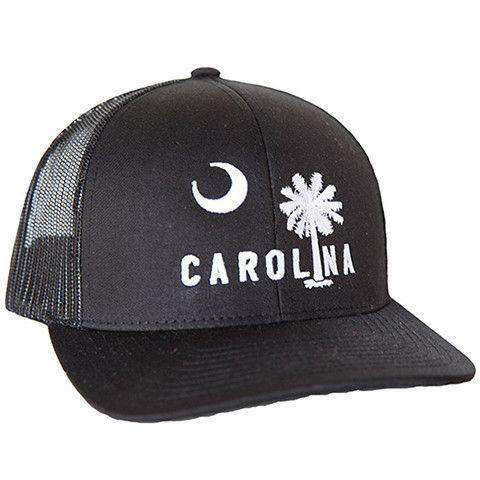 Carolina Mesh Back Hat in Blacksburg Black by Classic Carolinas