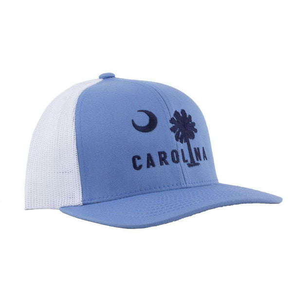 Carolina Mesh Back Hat in Columbia Blue by Classic Carolinas