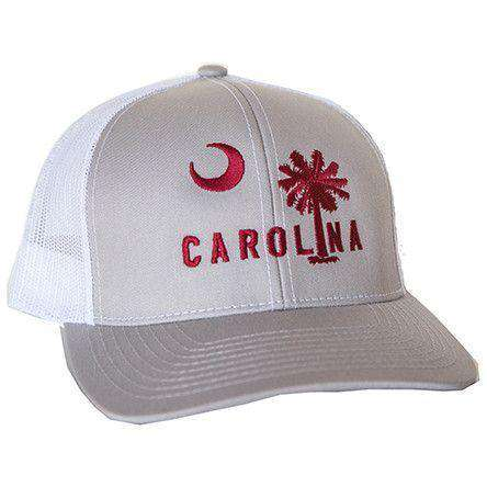 Carolina Mesh Back Hat in Graniteville Grey by Classic Carolinas