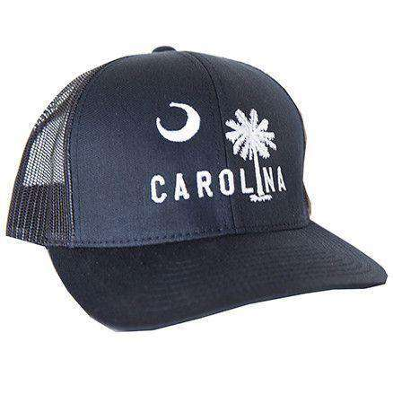 Carolina Mesh Back Hat in Newberry Navy by Classic Carolinas