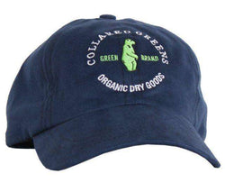 Hats/Visors - Circle Logo Hat In Navy By Collared Greens