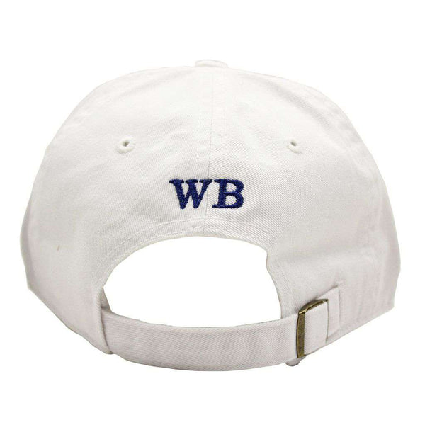 Hats/Visors - Classic Heron Twill Hat In White By Waters Bluff