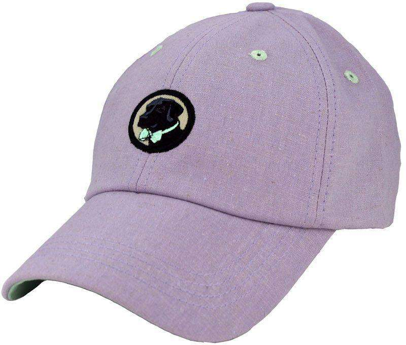 Hats/Visors - Cocktail Cap In Lavender Linen By Southern Proper