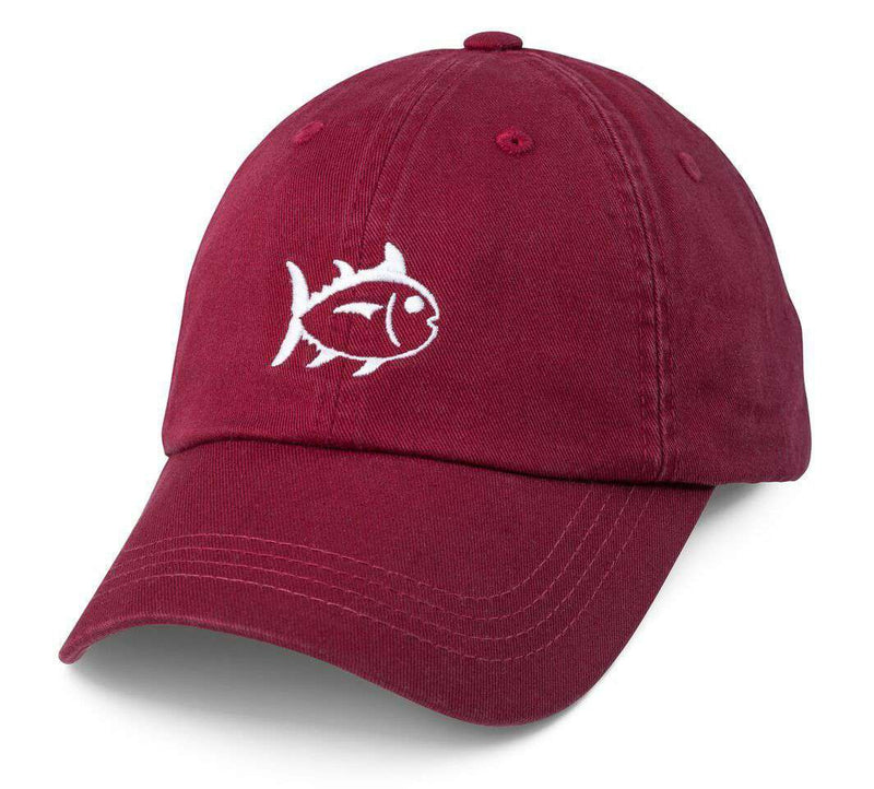 Hats/Visors - Collegiate Skipjack Hat In Chianti By Southern Tide