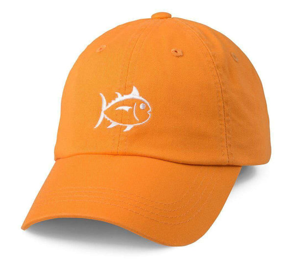 Hats/Visors - Collegiate Skipjack Hat In Rocky Top Orange By Southern Tide