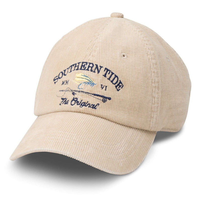 Corduroy Fishing Hat in Stone by Southern Tide