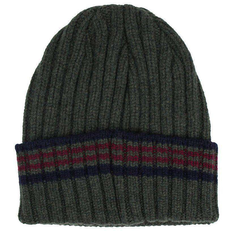 Crathes Hat in Olive by Barbour
