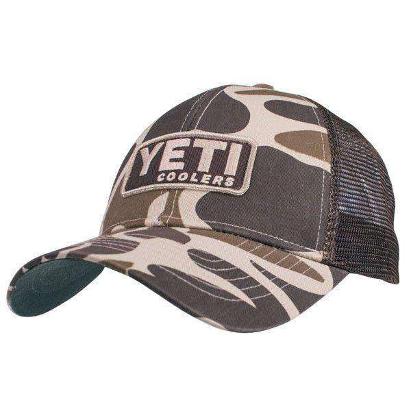 Hats/Visors - Custom Camo Hat With Patch By YETI