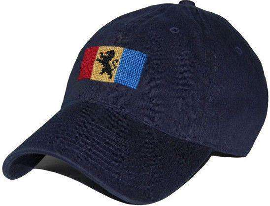 Delta Kappa Epsilon Needlepoint Hat in Navy by Smathers & Branson
