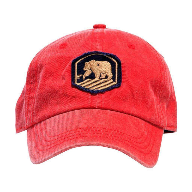 Faded Active Wear Cap in Red by The Normal Brand