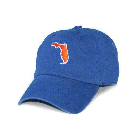 Hats/Visors - Florida Gainesville Gameday Hat In Blue By State Traditions