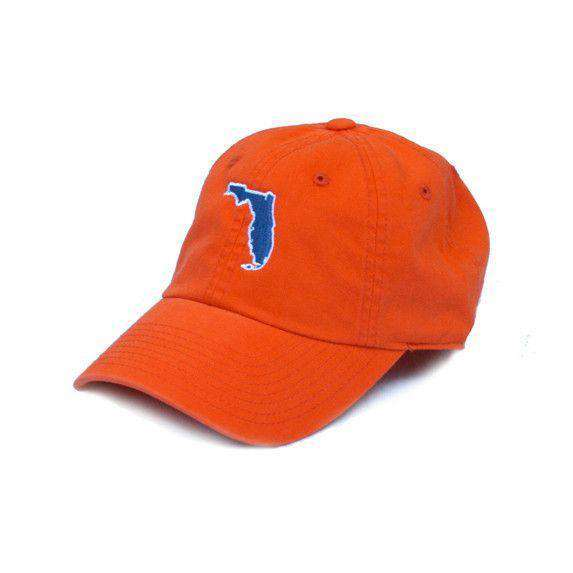 Hats/Visors - Florida Gainesville Gameday Hat In Orange By State Traditions