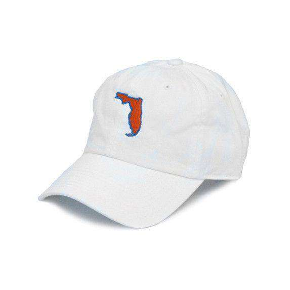 Hats/Visors - Florida Gainesville Gameday Hat In White By State Traditions