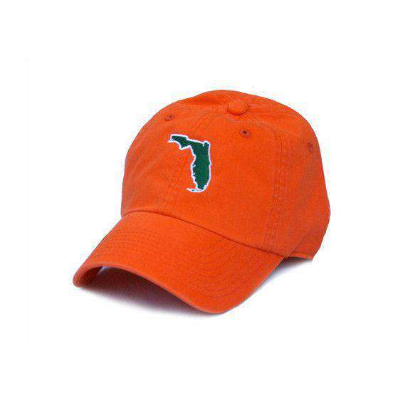 Hats/Visors - Florida Miami Gameday Hat In Orange By State Traditions