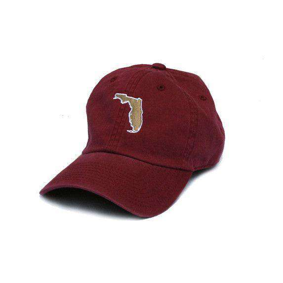 Hats/Visors - Florida Tallahassee Gameday Hat In Garnet By State Traditions