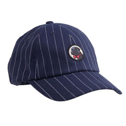 Hats/Visors - Frat Hat In Navy Pin Stripe By Southern Proper