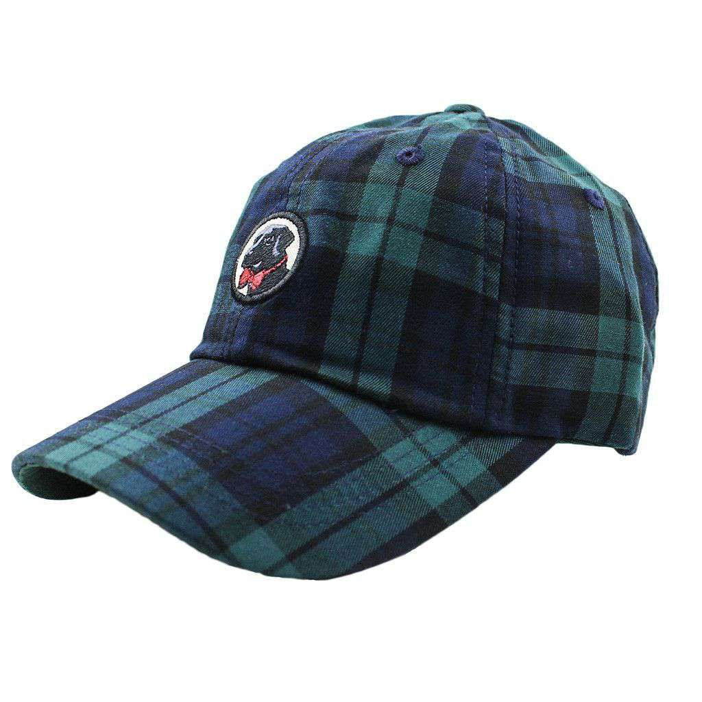 Hats/Visors - Frat Hat In Navy Tartan Plaid By Southern Proper