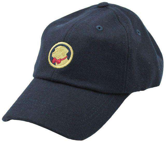 Hats/Visors - Frat Hat In Navy Wool By Southern Proper
