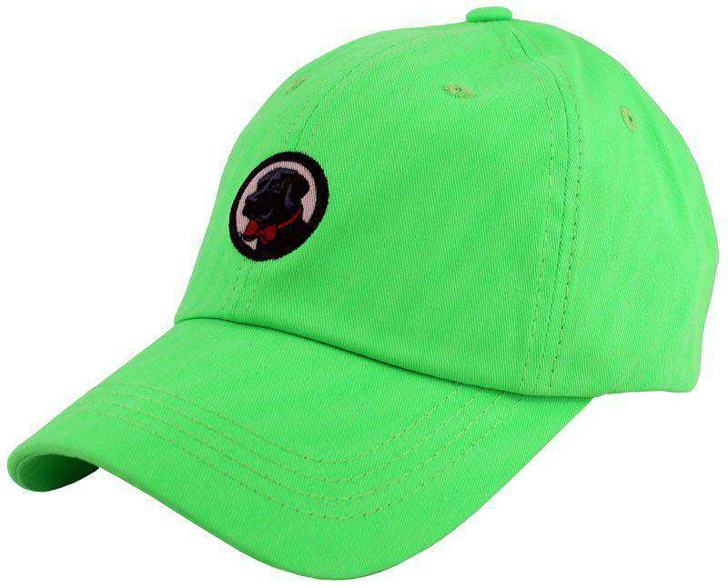 Hats/Visors - Frat Hat In Neon Green By Southern Proper