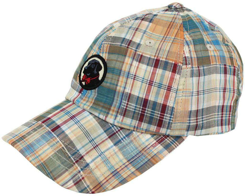 Hats/Visors - Frat Hat In Patchwork Plaid Madras By Southern Proper