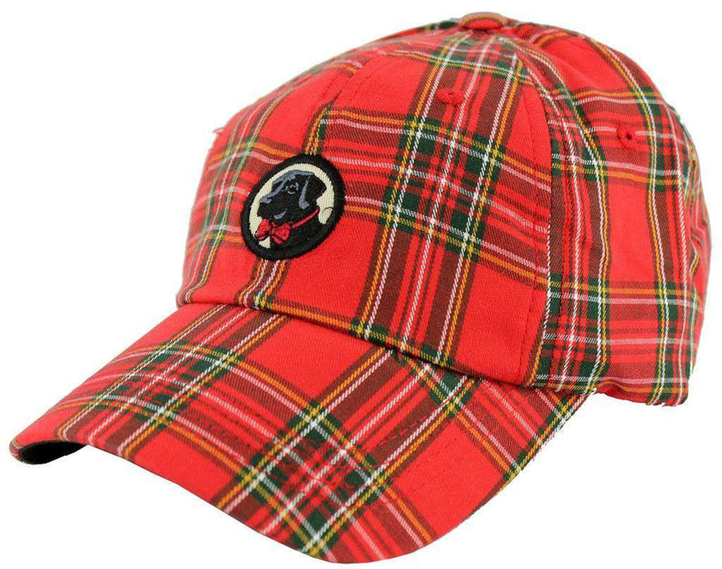 Hats/Visors - Frat Hat In Red Tartan Plaid By Southern Proper