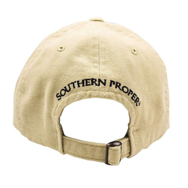 Hats/Visors - Frat Hat In Stone By Southern Proper
