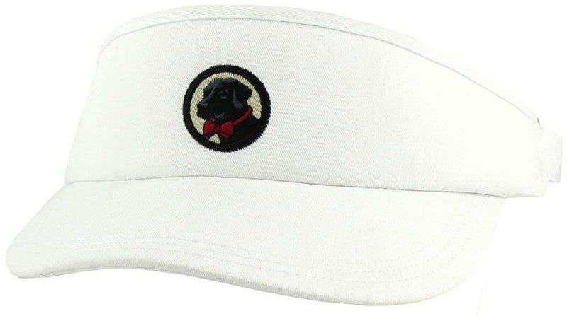 Hats/Visors - Frat Visor In White By Southern Proper