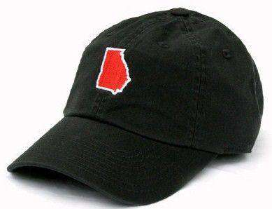 Hats/Visors - GA Athens Gameday Hat In Black By State Traditions