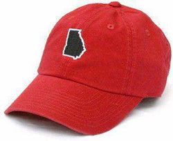 Hats/Visors - GA Athens Gameday Hat In Red By State Traditions