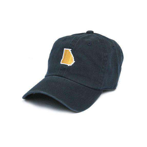Hats/Visors - GA Atlanta Gameday Hat In Navy By State Traditions