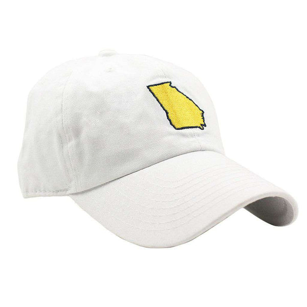 Hats/Visors - GA Atlanta Gameday Hat In White By State Traditions