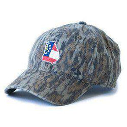 GA Traditional Hat in Bottomland Camo by State Traditions