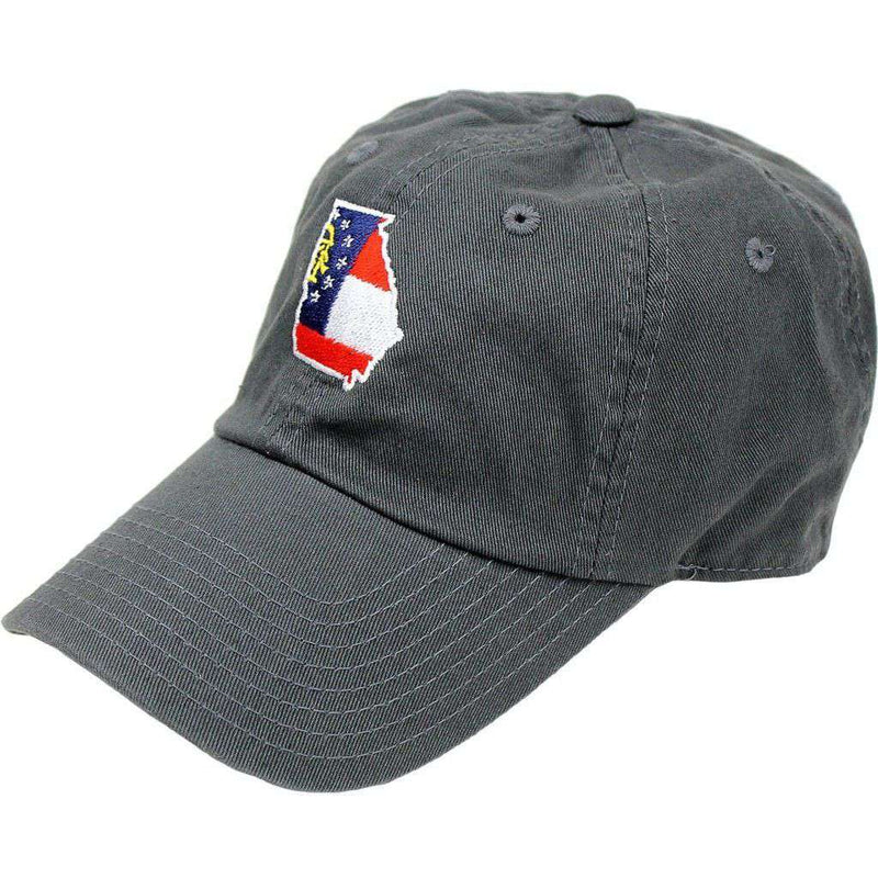 Hats/Visors - GA Traditional Hat In Charcoal By State Traditions