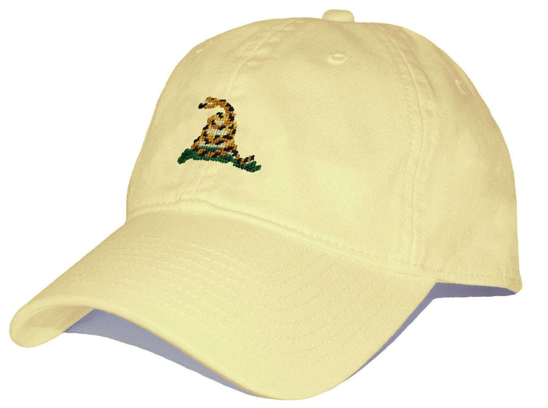 Hats/Visors - Gadsden Needlepoint Hat In Butter Yellow By Smathers & Branson