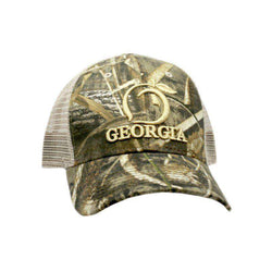 6eac741de47ab0 Peach State Pride Georgia Mesh Back Hat in Camo – Country Club Prep