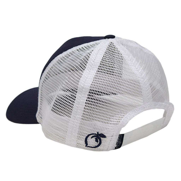 ddbac49be2e Peach State Pride Georgia Southern University Screaming Eagle Mesh Back Hat  in Navy – Country Club Prep