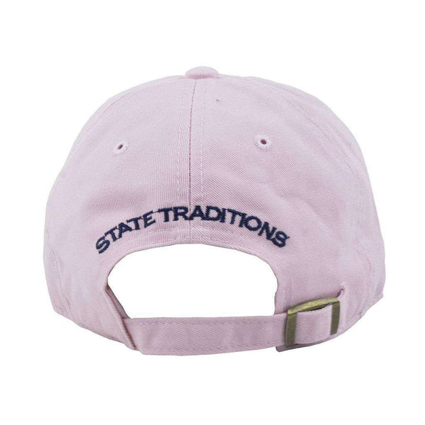 Hats/Visors - Georgia Traditional Hat In Pink By State Traditions