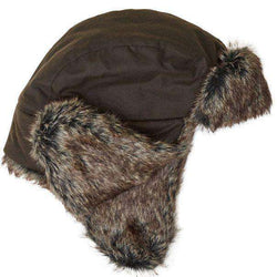 81f68b61826 Barbour Grasmere Wax Trapper Hat in Olive – Country Club Prep
