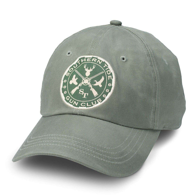 Gun Club Waxed Cotton Hat in Green by Southern Tide