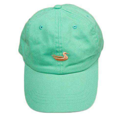 Hats/Visors - Hat In Washed Bimini Green With Melon Duck By Southern Marsh