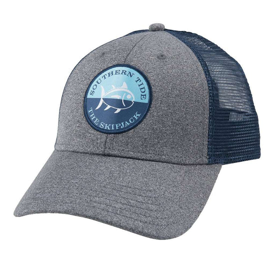 Hats Visors - Heathered Skipjack Trucker Hat In Grey Heather By Southern  Tide 8879e73d5cf4