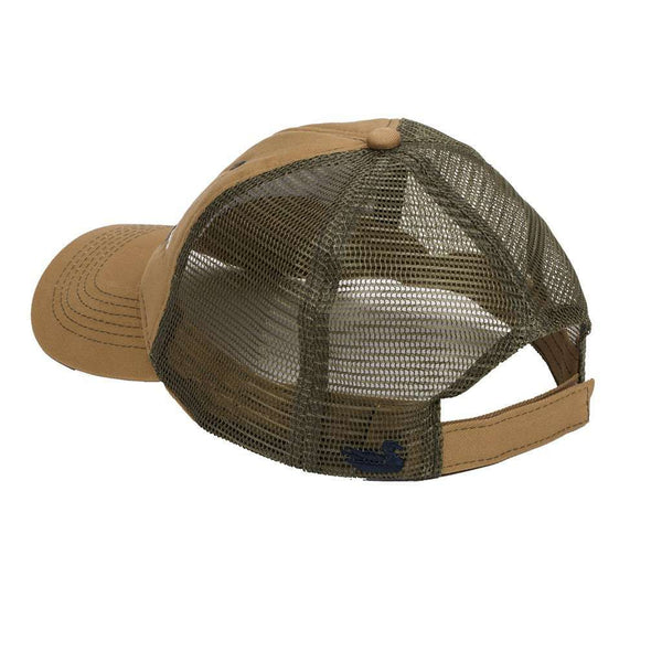 Hunting Dog Trucker Hat in Khaki by Southern Marsh