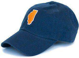 Hats/Visors - Illinois Champaign Gameday Hat In Navy By State Traditions
