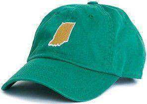 Hats/Visors - Indiana South Bend Gameday Hat In Green By State Traditions
